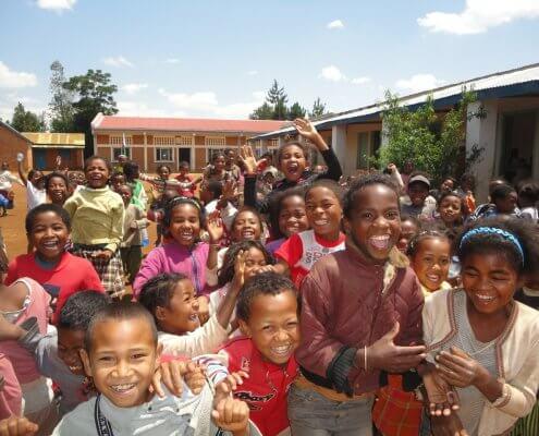 Madagascar kinderen madalief