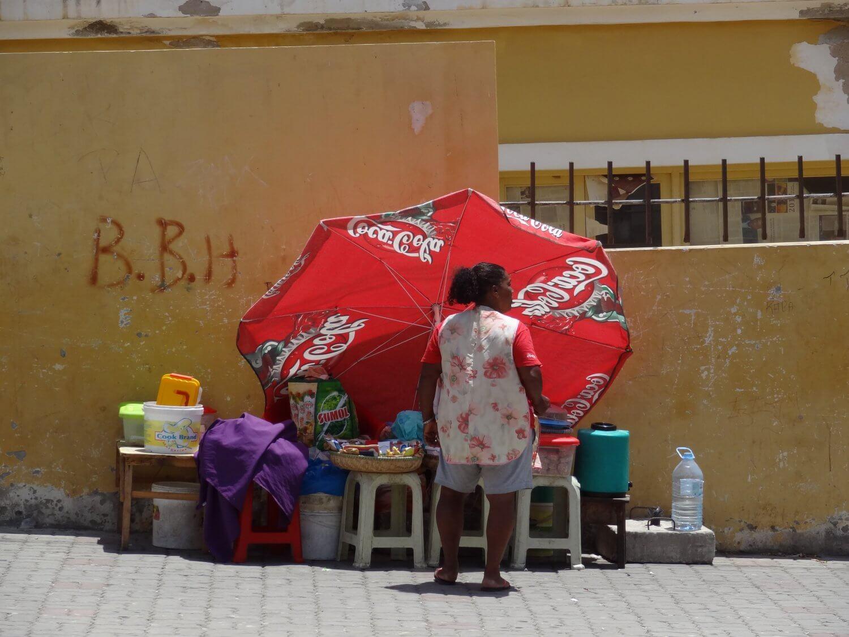 Kaapverdië Mindelo Marktvrouw