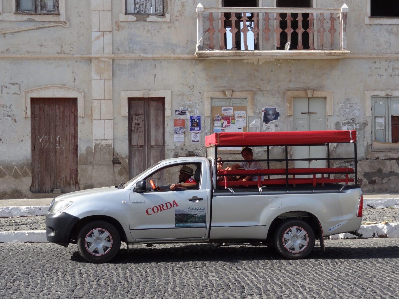 Kaapverdie openbaar vervoer Santo Antao