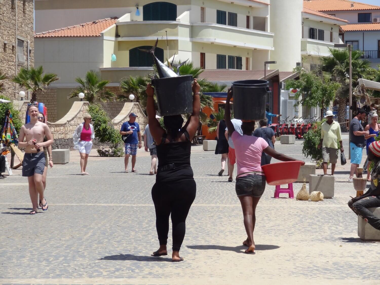 Sal Kaapverdië pier