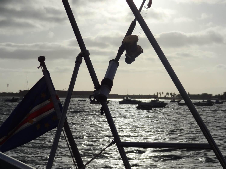 Sal Kaapverdië zeilboot