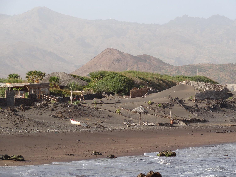 Santo Antao Kaapverdië strand