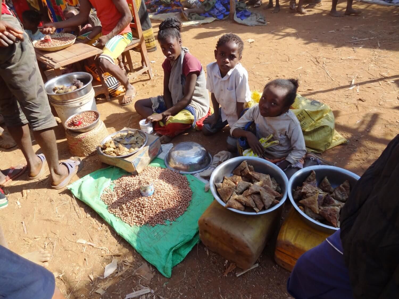 Madagascar Markt in het zuiden