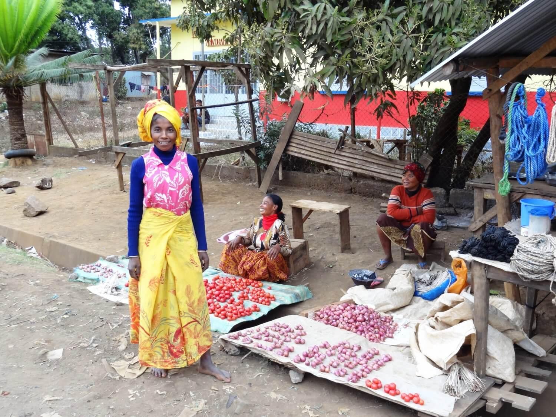 Madagascar Ankarana trotse dame