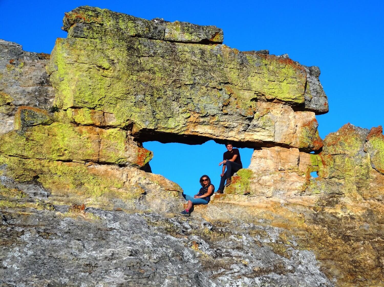 Madagascar Isalo Park La Fenetre