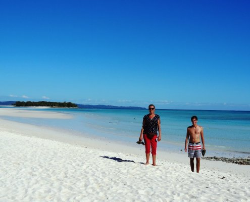 Madagascar Nosy Be witte stranden