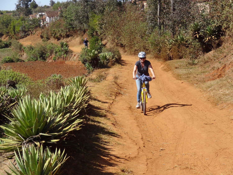Madagascar Antsirabe fietstocht