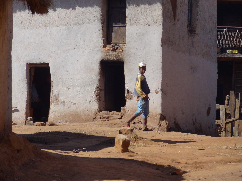 Madagascar fietstocht straatbeeld