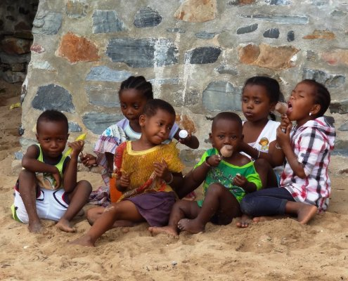 Madagascar kinderen