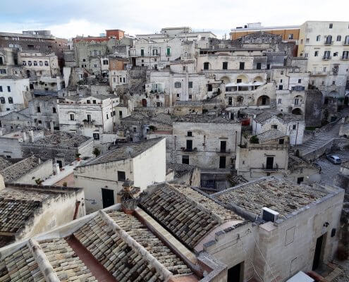 Italië Basilicata Matera