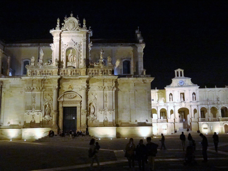 Italië Lecce Piazza Duomo