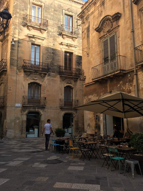 Italië Lecce ontbijten