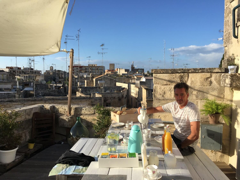 Italië Lecce Little Dolce dakterras