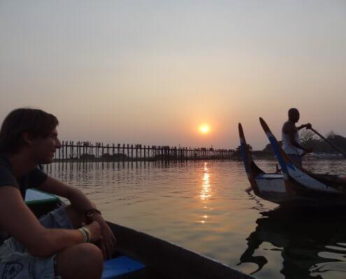 Myanmar Mandalay Ubein brug