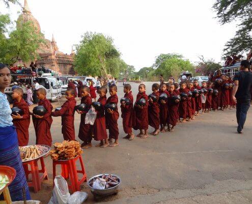Myanmar Bagan monniken