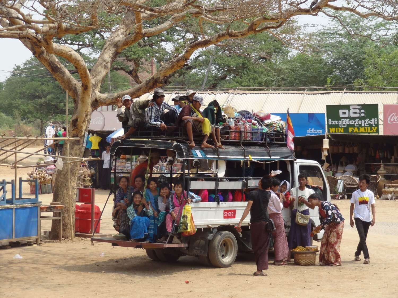 Myanmar Kalaw taxi