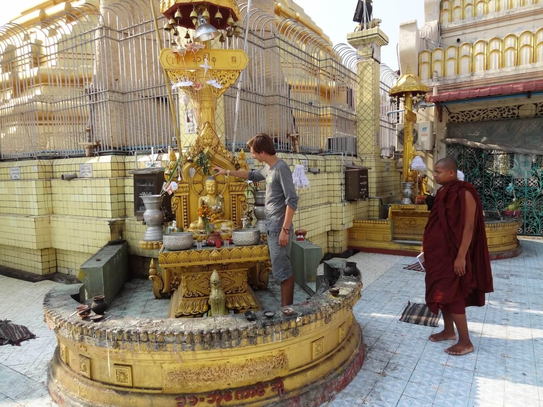 Myanmar Yangon tempel