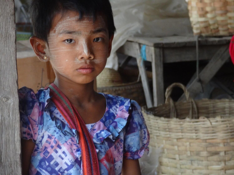 Myanmar thanaka