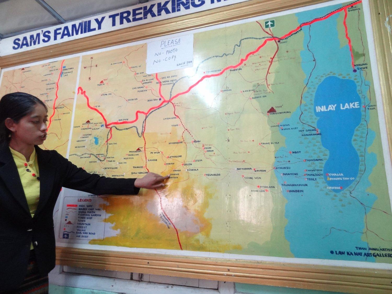 Myanmar Kalaw Sam's trekking