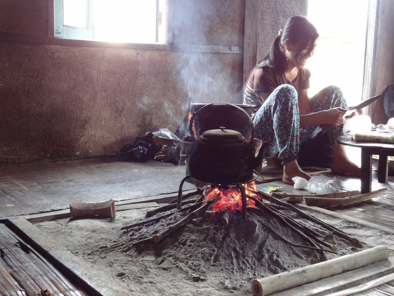 Myanmar Kalaw trekking homestay
