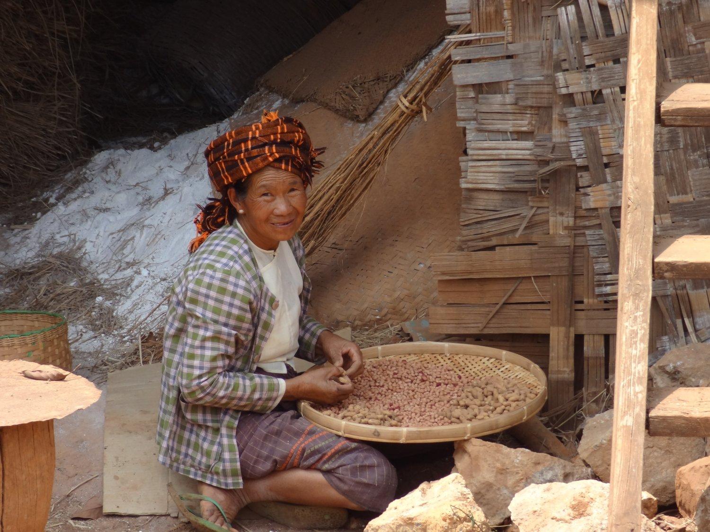 Myanmar Kalaw onderweg