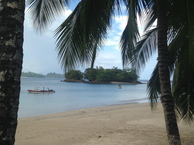 Panama strand van Isla Coiba