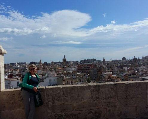 Valencia uitzicht Quartz toren