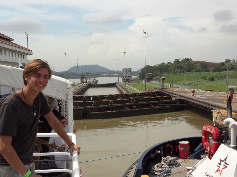 Panama city miraflores sluizen