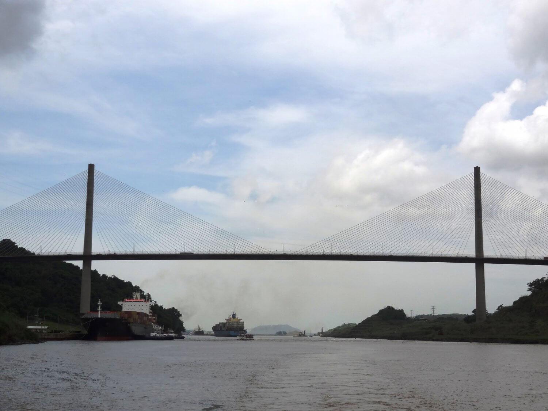 Panama kanaal Centennial Bridge