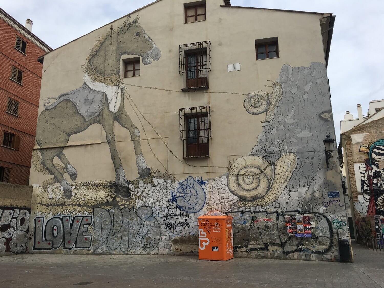 Valencia streetart tour piece