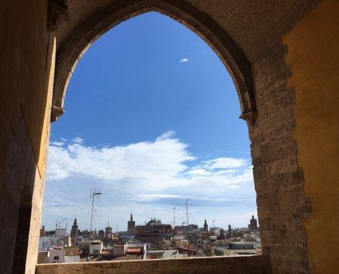 Valencia uitzicht stad
