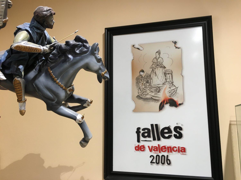 Valencia Las Fallas poster