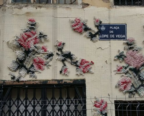 Valencia straatkunst