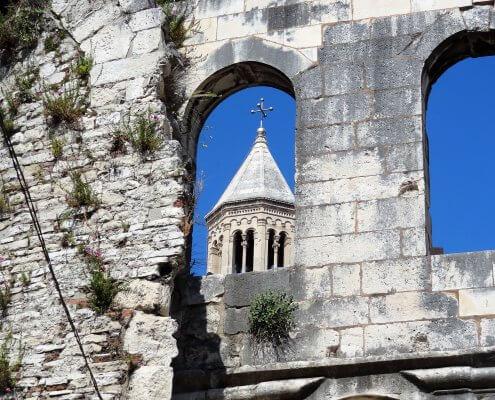 Kroatië Split paleis van Diocletianus