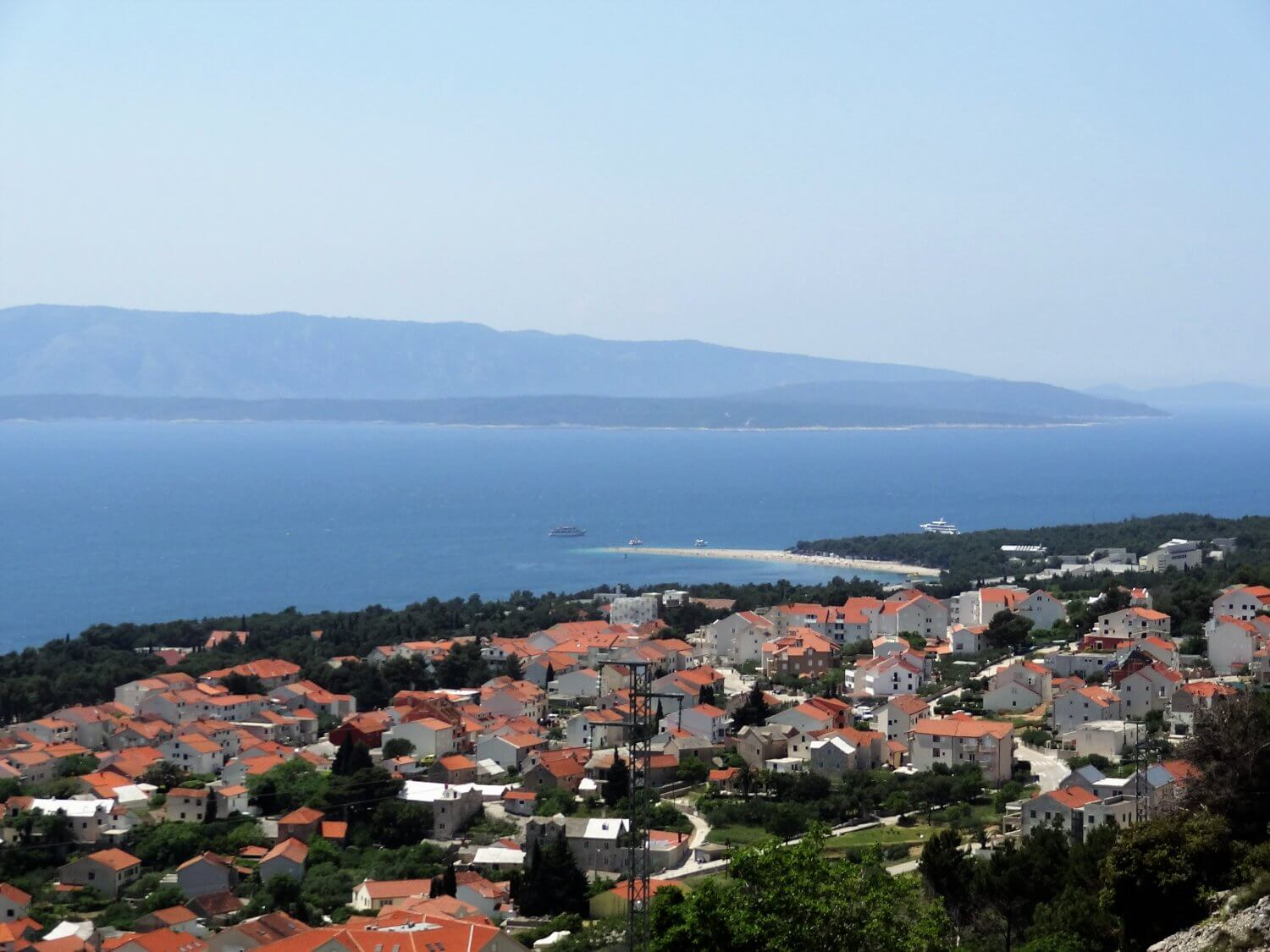Kroatië Brac viewpoint