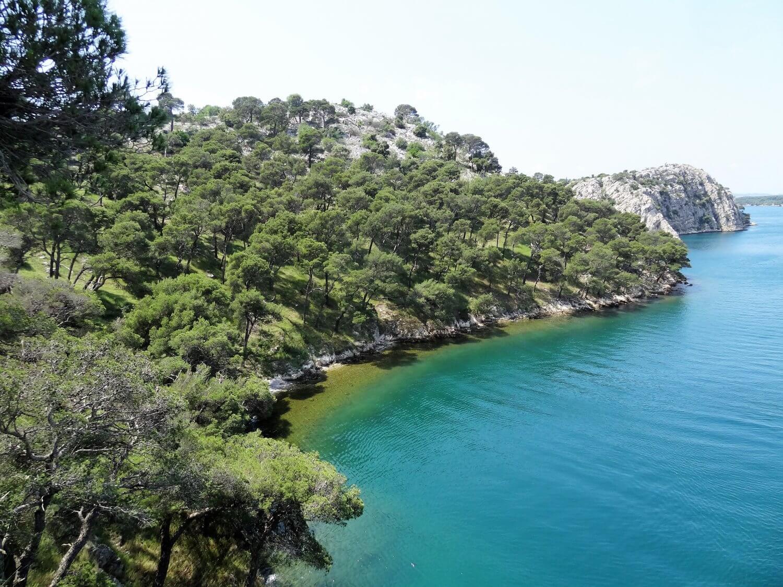 Kroatië Sibenik Sveti Ante kanaal