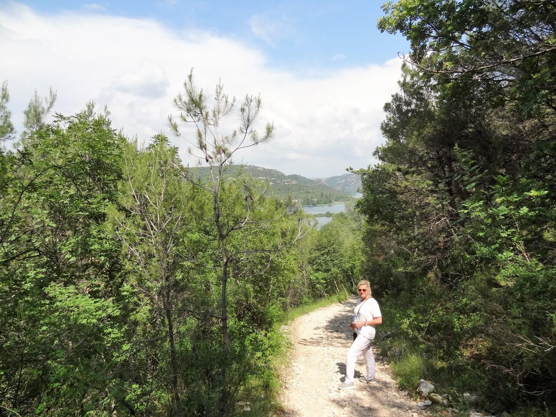 Kroatië Sibenik wandelroute Sveti Ante
