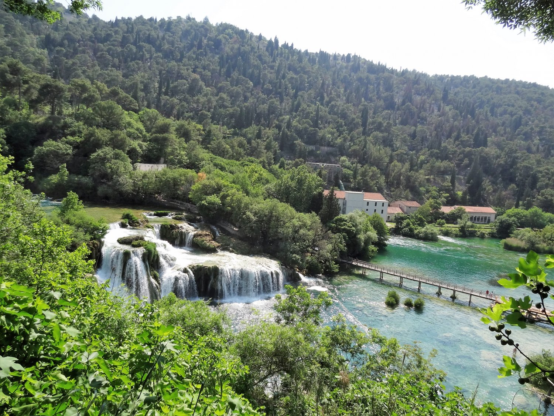 Kroatië Krka falls