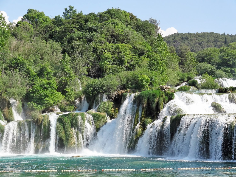 Kroatië Krka Skadinski Buk waterval