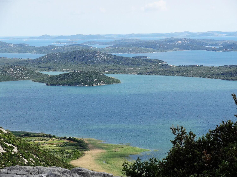 Kroatië Uitzicht Kornatie eilanden