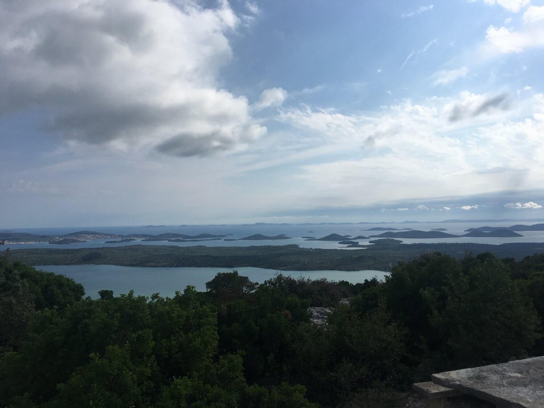Kroatië uitzicht Kornati eilanden