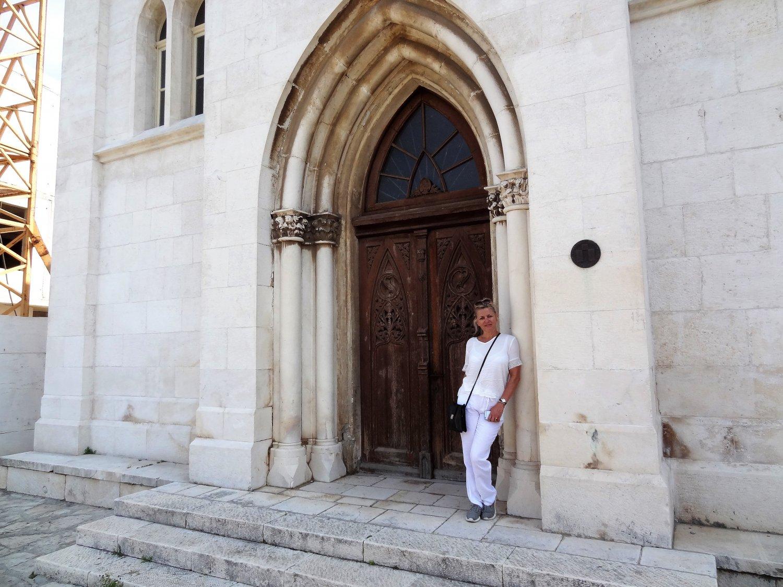 Kroatië Sibenik kerkje