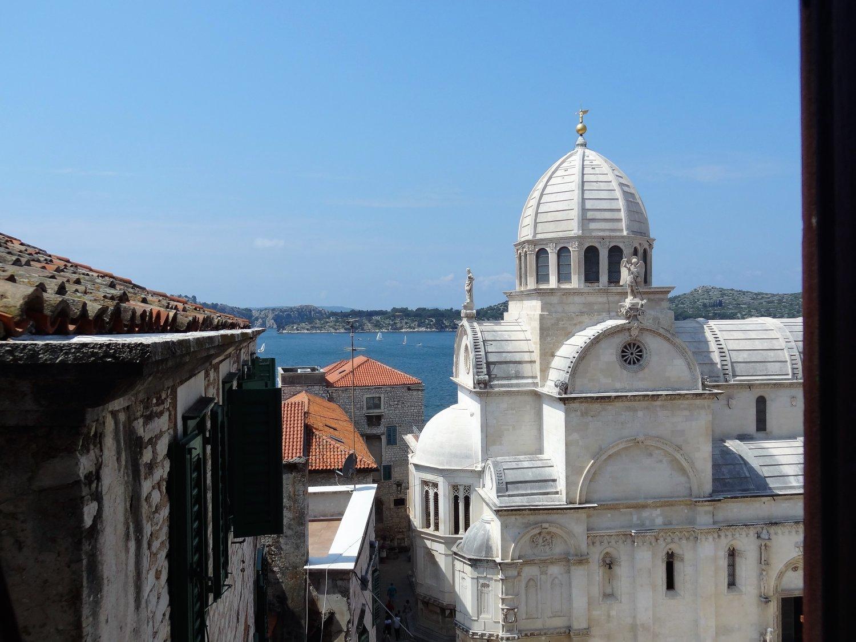 Kroatië Sibenik Kathedraal viewpoint
