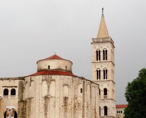 Kroatië Zadar Sint Donatuskerk