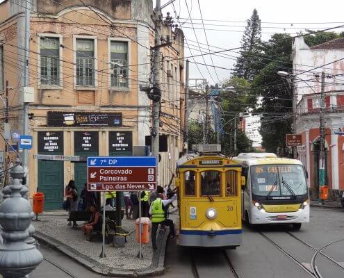 Rio de Janeiro historische tram