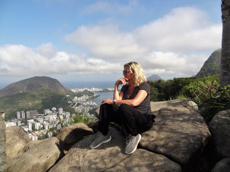 Rio de janeiro uitzichtpunt