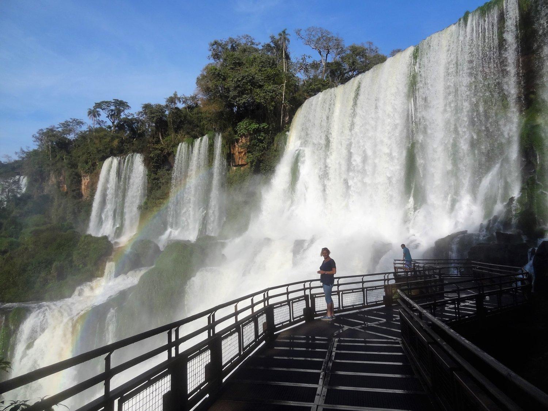 Argentinië Iguazu Lower Falls