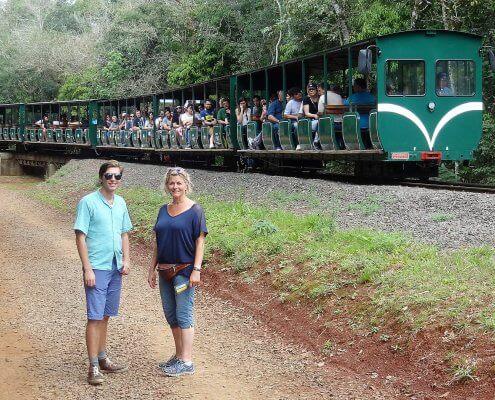 Iguazu Falls treintje