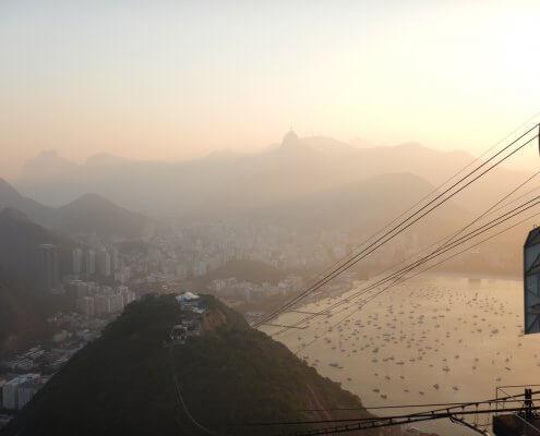 Rio de Janeiro vanaf de Suikerbroodberg