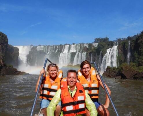Iguazu Falls boottocht